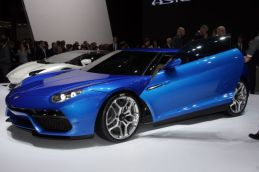 Lamborghini Asterion - the doors